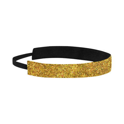 yellow glitter Sports Headband