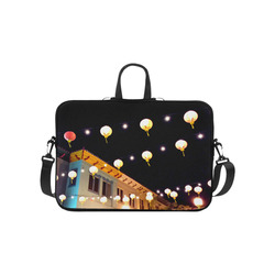 Lights Above Chinatown Laptop Handbags 10""
