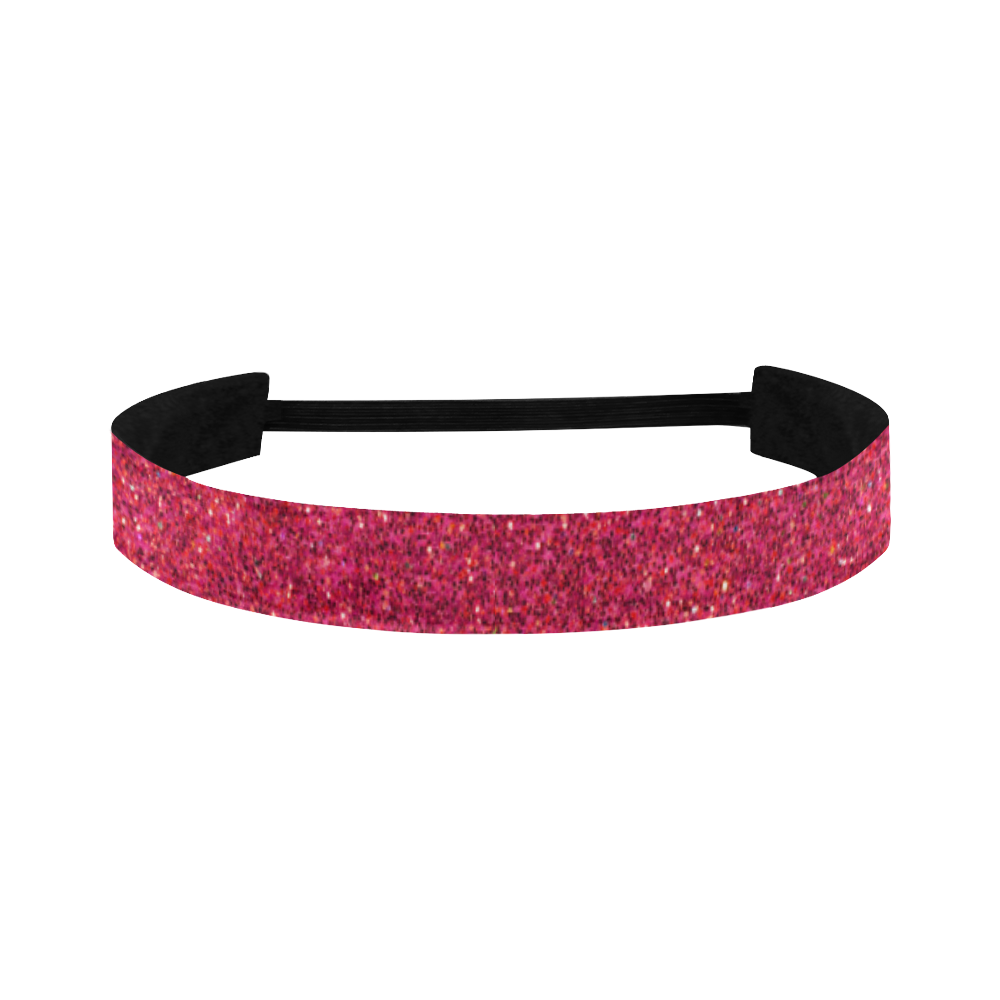 pink glitter Sports Headband