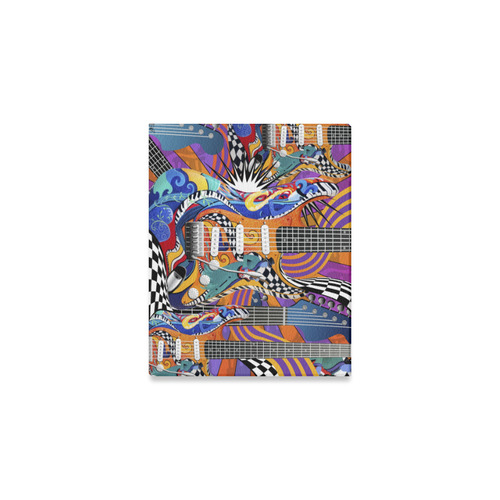 "8x10 Canvas Print Music Decor Guitar Art By Juleez Canvas Print 10""x8"""