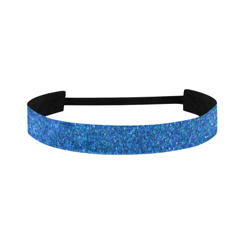 light blue glitter Sports Headband