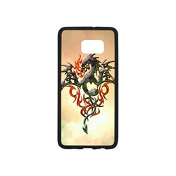Awesome dragon, tribal Rubber Case for Samsung Galaxy S6 edge+
