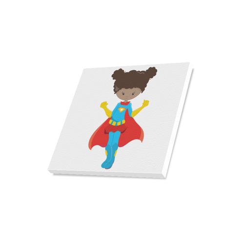 """Supergirl """"Kayla"""" Canvas Print 16""""x16"""""""