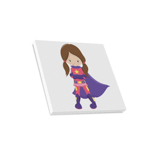 """Supergirl """"Lily"""" Canvas Print 16""""x16"""""""