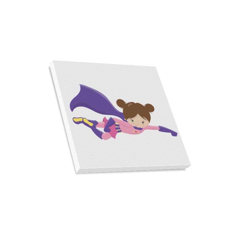 "Supergirl ""Melissa"" Canvas Print 16""x16"""