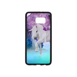 Unicorn with sleeping fairy Rubber Case for Samsung Galaxy S6 edge+