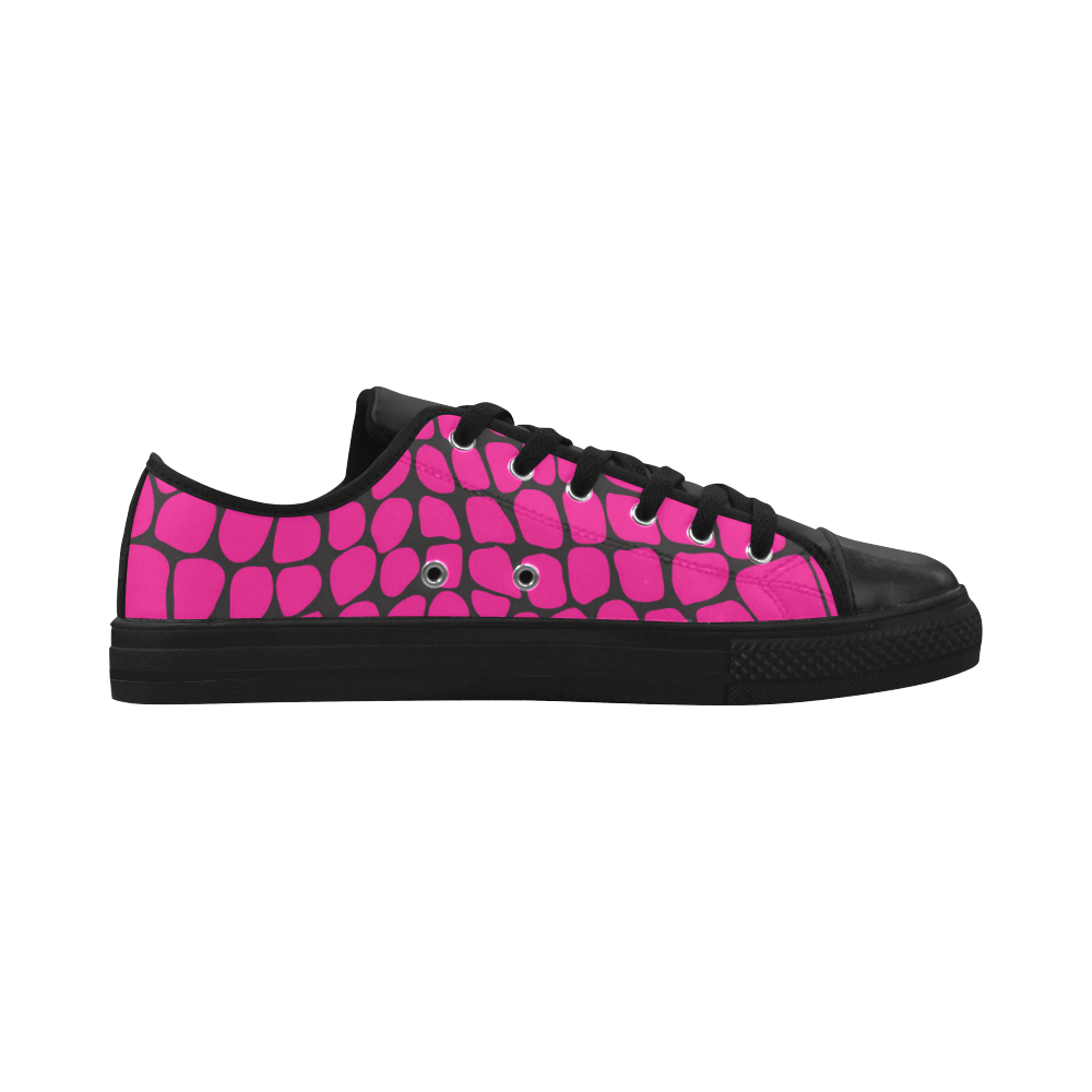 Wild About PINK Aquila Microfiber Leather Women's Shoes (Model 028)