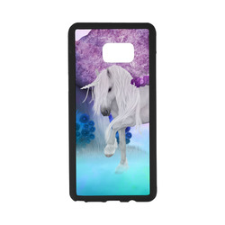 Unicorn with sleeping fairy Rubber Case for Samsung Galaxy Note7