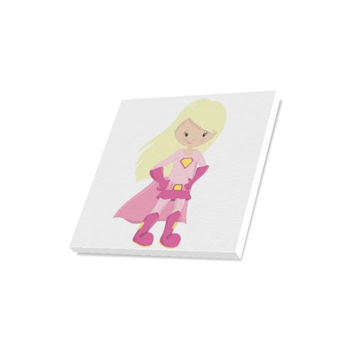 "Supergirl ""Madilyn"" Canvas Print 16""x16"""