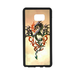 Awesome dragon, tribal Rubber Case for Samsung Galaxy Note7