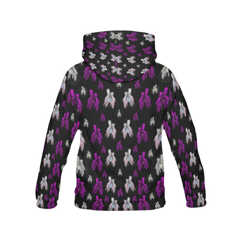 earth in hands All Over Print Hoodie for Women (USA Size) (Model H13)