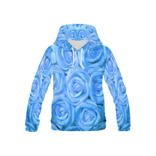 gorgeous roses K All Over Print Hoodie for Kid (USA Size) (Model H13)