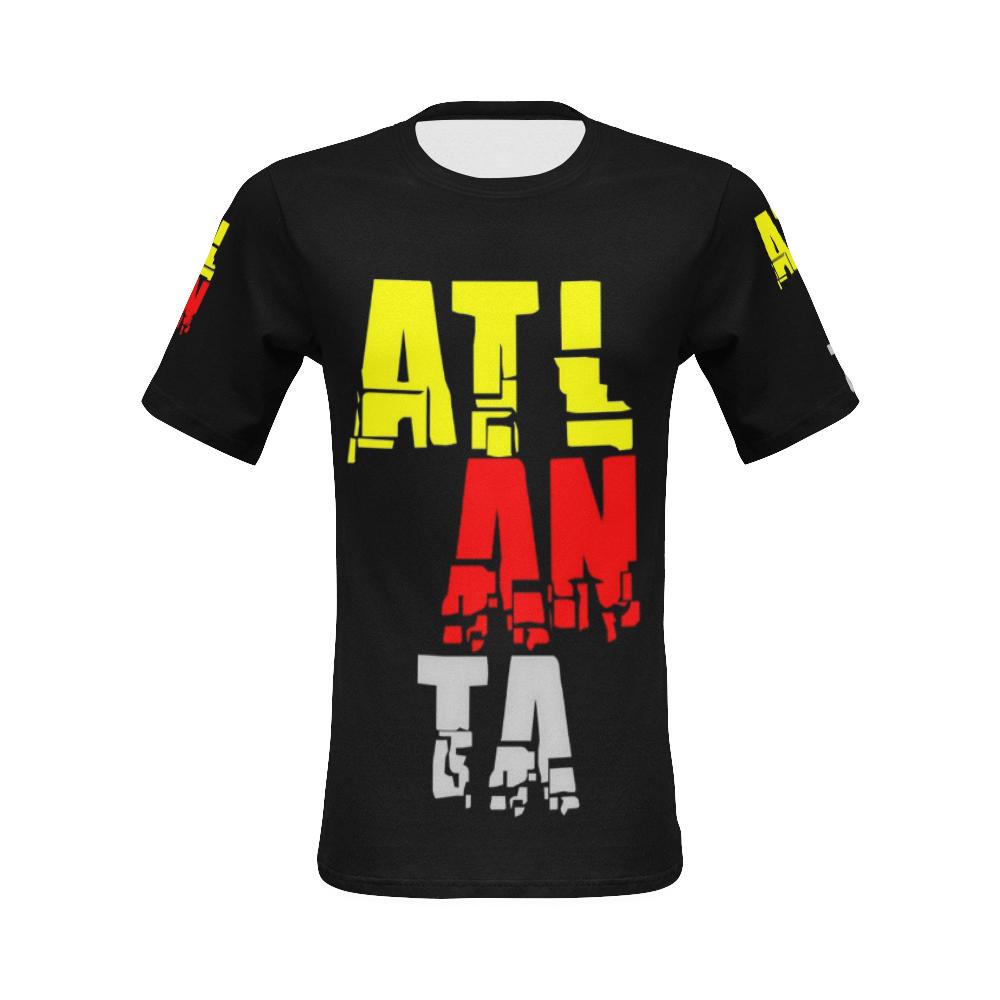 Atlanta by Artdream All Over Print T-Shirt for Men (USA Size) (Model T40)