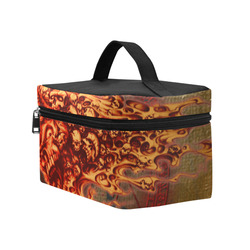 Awesome, creepy flyings skulls Cosmetic Bag/Large (Model 1658)