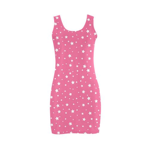 Pink Stars Medea Vest Dress (Model D06)