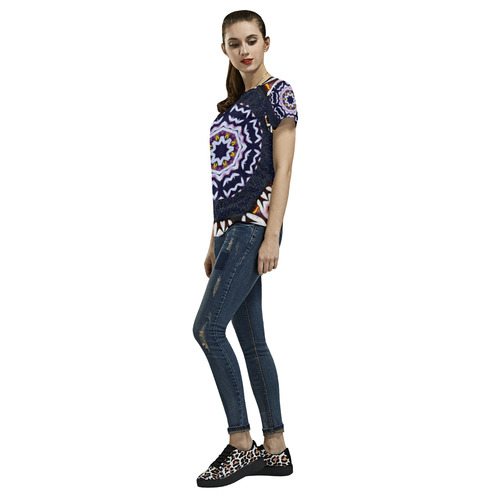 Japan In Style All Over Print T-Shirt for Women (USA Size) (Model T40)
