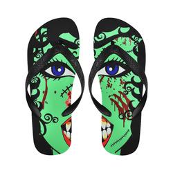 ZinZi the Zombie Flip Flops for Men/Women (Model 040)