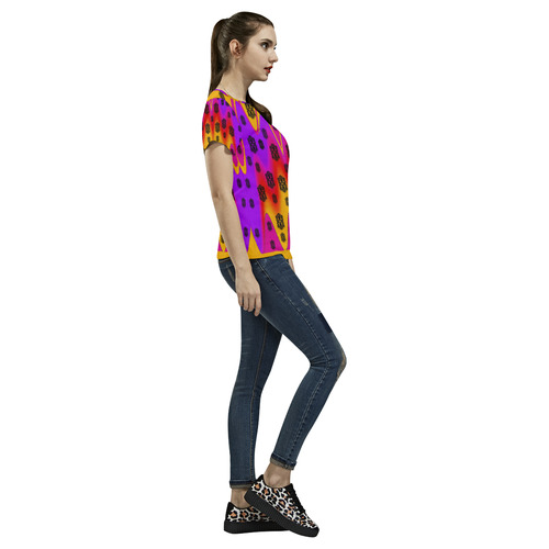 The Big City All Over Print T-Shirt for Women (USA Size) (Model T40)