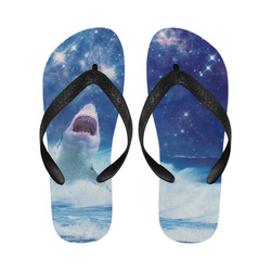STAR KILLER shark Flip Flops for Men/Women (Model 040)