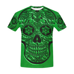 Skull20170476_by_JAMColors All Over Print T-Shirt for Men (USA Size) (Model T40)
