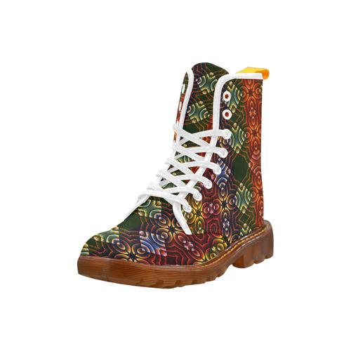 Batik Maharani #3 - Jera Nour Martin Boots For Women Model 1203H