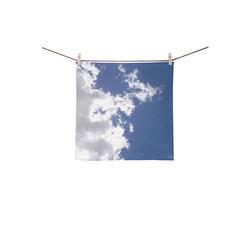 """Cloud Fire Square Towel 13""""x13"""""""