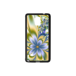 Silky Flowers Rubber Case for Samsung Galaxy Note 4