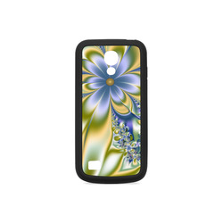Silky Flowers Rubber Case for Samsung Galaxy S4 mini
