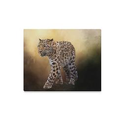 """A magnificent painted Amur leopard Canvas Print 20""""x16"""""""