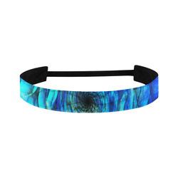 Galaxy Wormhole Spiral 3D - Jera Nour Sports Headband