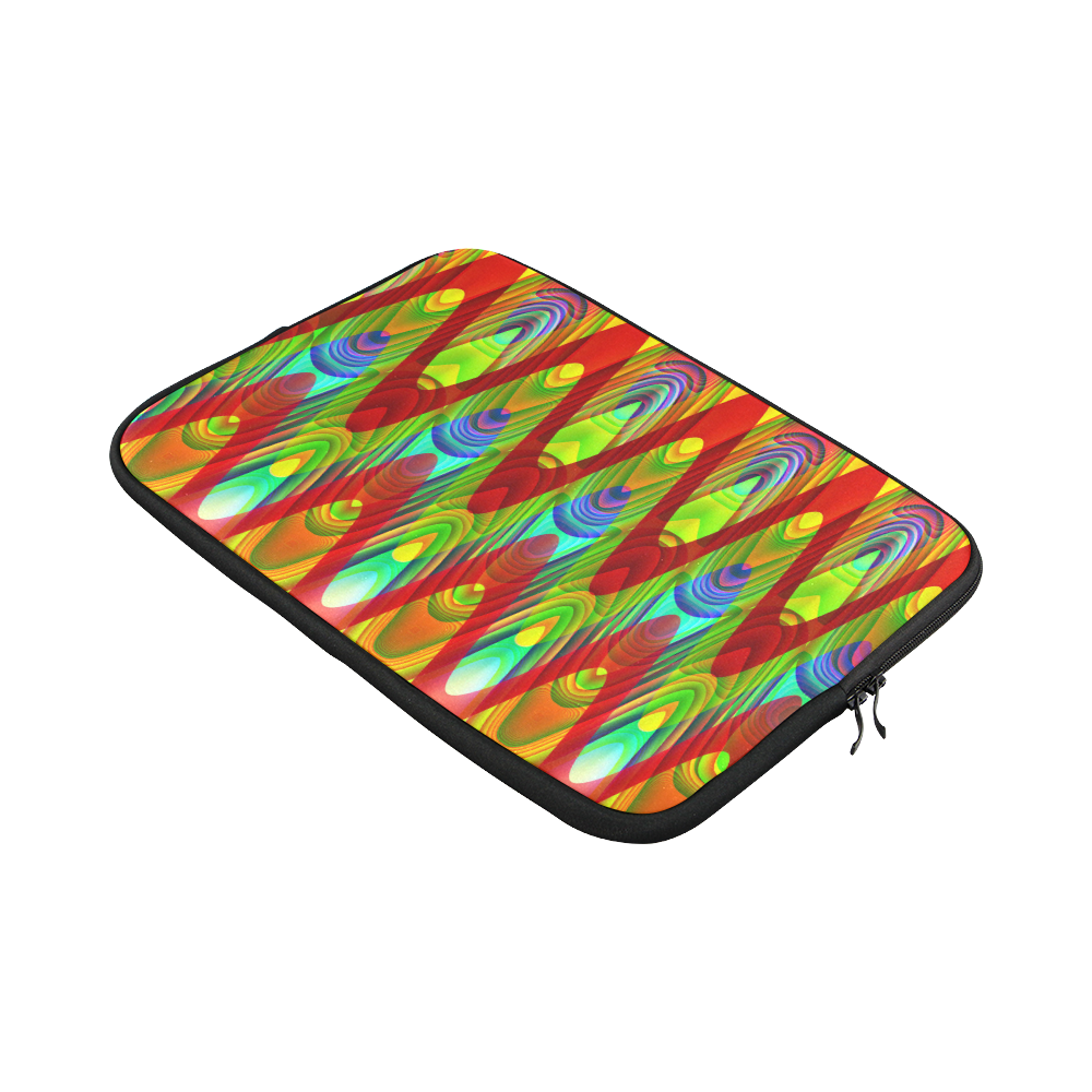 "2D Wave #1A - Jera Nour Custom Sleeve for Laptop 15.6"""