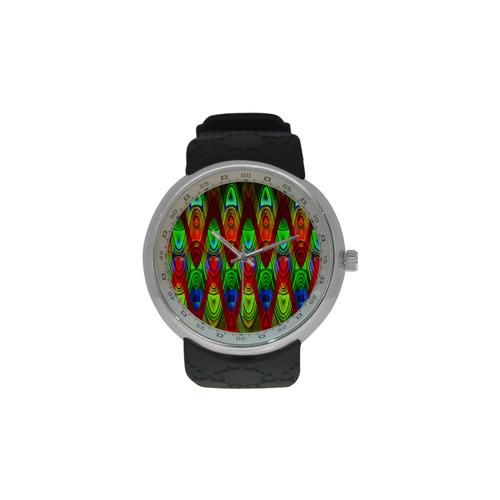 2D Wave #1B - Jera Nour Men's Resin Strap Watch(Model 307)