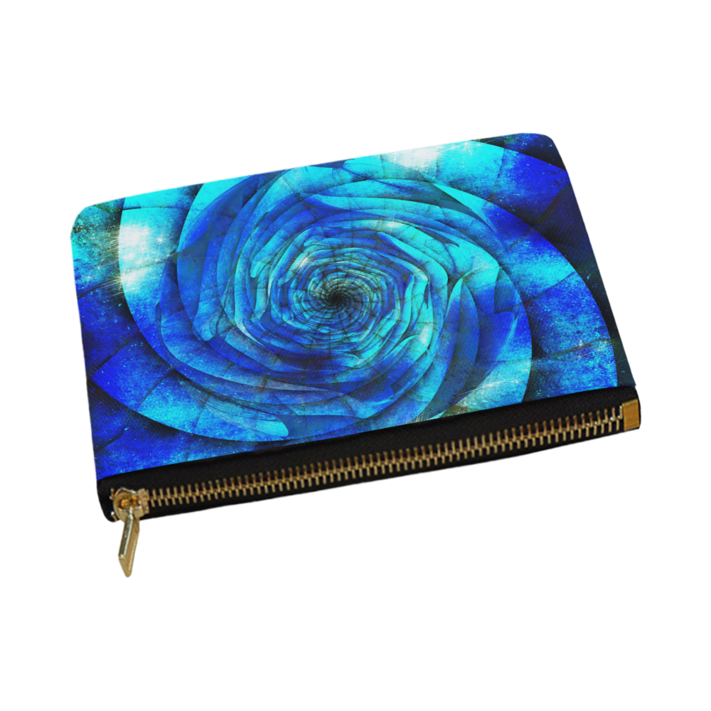 Galaxy Wormhole Spiral 3D - Jera Nour Carry-All Pouch 12.5''x8.5''