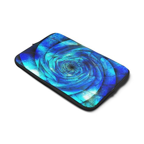 "Galaxy Wormhole Spiral 3D - Jera Nour Custom Sleeve for Laptop 17"""