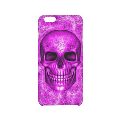 Smiling Skull on Fibers D by JamColors Hard Case for iPhone 6/6s plus