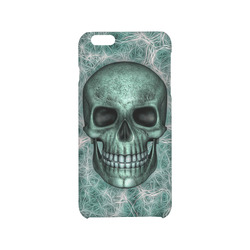 Smiling Skull on Fibers G by JamColors Hard Case for iPhone 6/6s plus