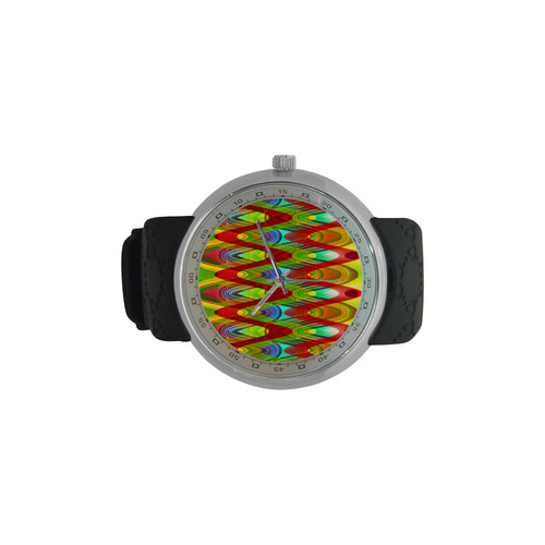 2D Wave #1A - Jera Nour Men's Resin Strap Watch(Model 307)