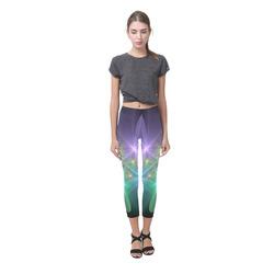 Ethereal Flowers Capri Legging (Model L02)