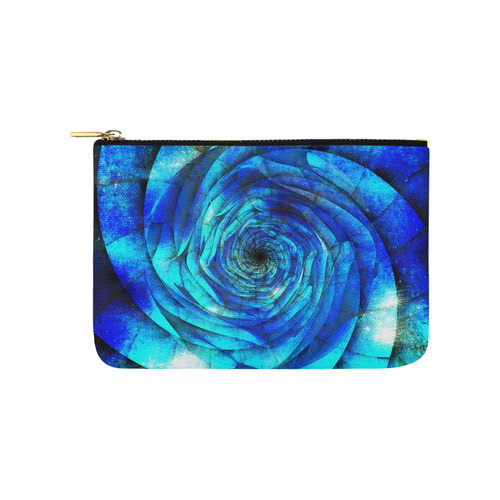 Galaxy Wormhole Spiral 3D - Jera Nour Carry-All Pouch 9.5''x6''