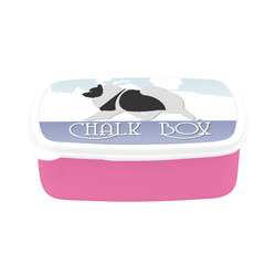 Keeshond Rockin the Rockies  box Children's Lunch Box