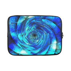 Galaxy Wormhole Spiral 3D - Jera Nour Custom Sleeve for Laptop 15.6""