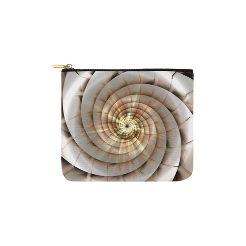 Spiral Eye 3D - Jera Nour Carry-All Pouch 6''x5''