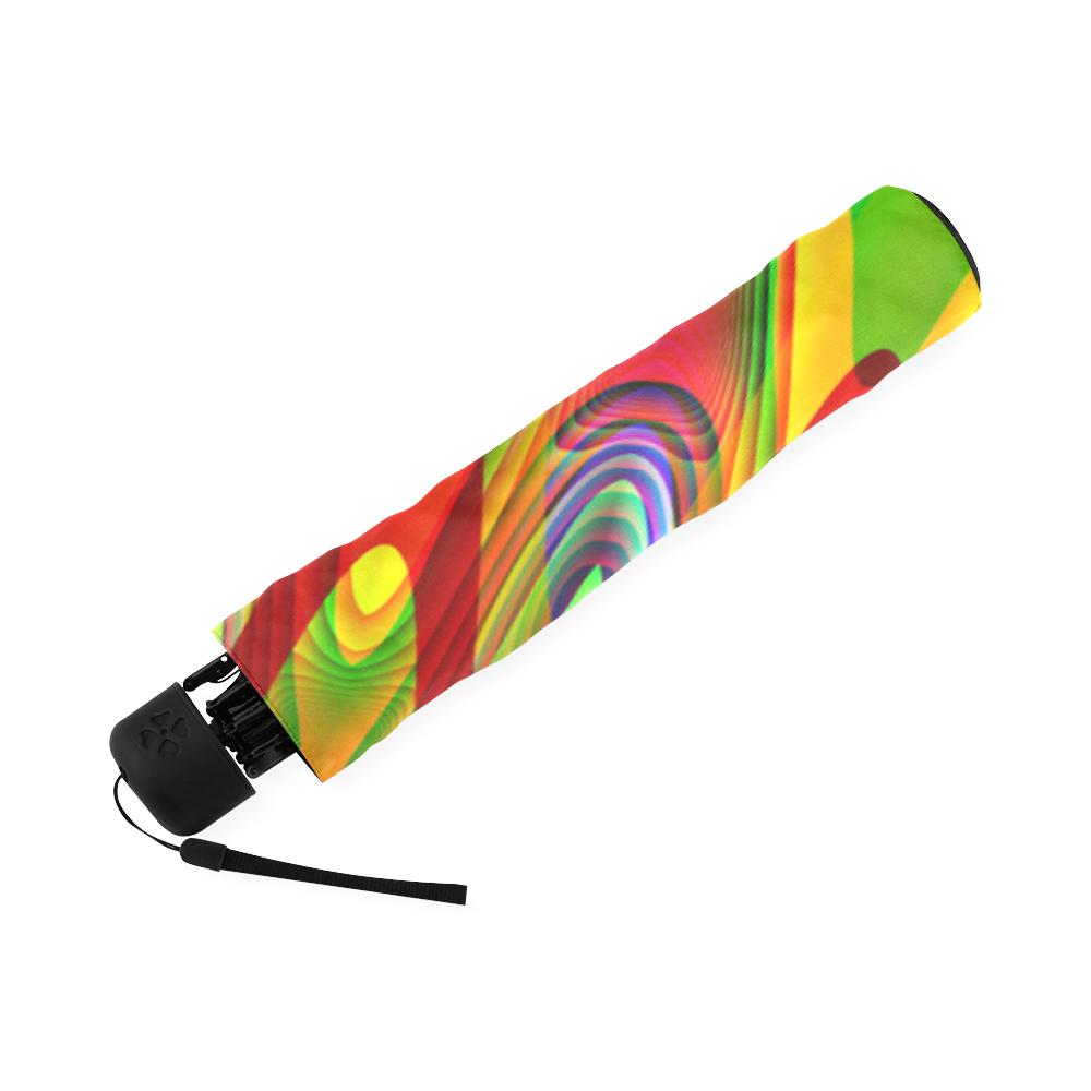 2D Wave #1A - Jera Nour Foldable Umbrella (Model U01)