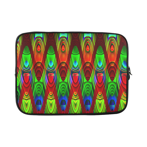 2D Wave #1B - Jera Nour Custom Sleeve for Laptop 15.6""