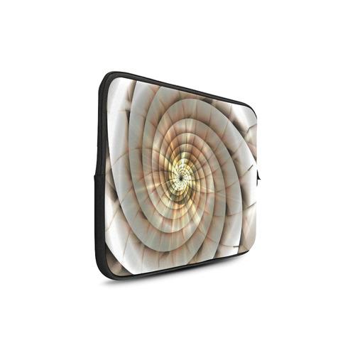 """Spiral Eye 3D - Jera Nour Custom Sleeve for Laptop 17"""""""