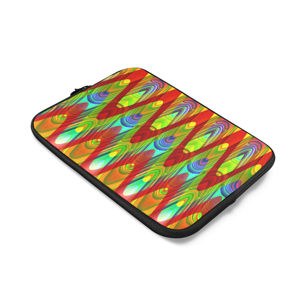 2D Wave #1A - Jera Nour Custom Laptop Sleeve 14''