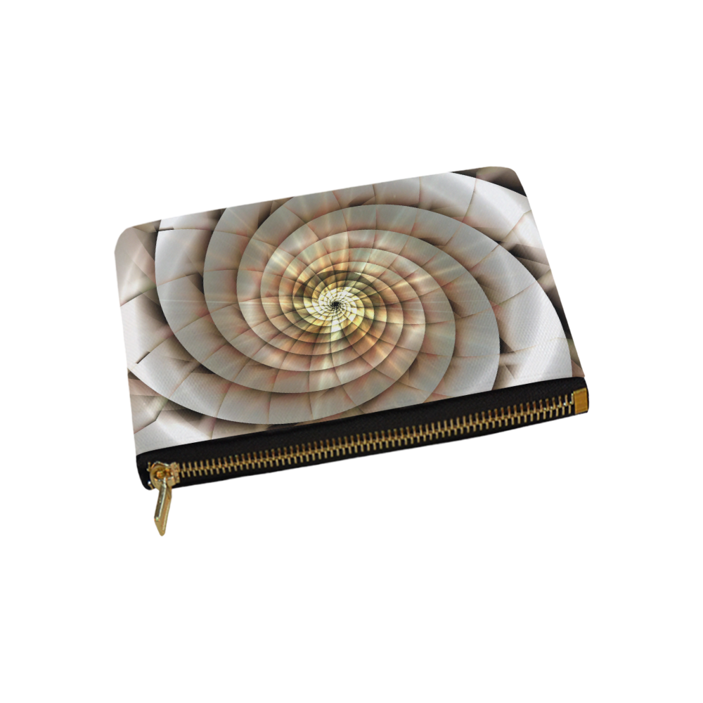Spiral Eye 3D - Jera Nour Carry-All Pouch 9.5''x6''