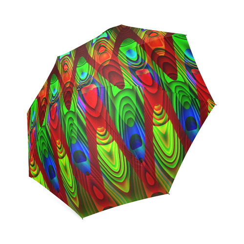 2D Wave #1B - Jera Nour Foldable Umbrella (Model U01)