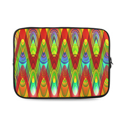 2D Wave #1A - Jera Nour Custom Laptop Sleeve 14''