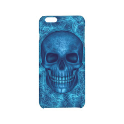 Smiling Skull on Fibers I by JamColors Hard Case for iPhone 6/6s plus